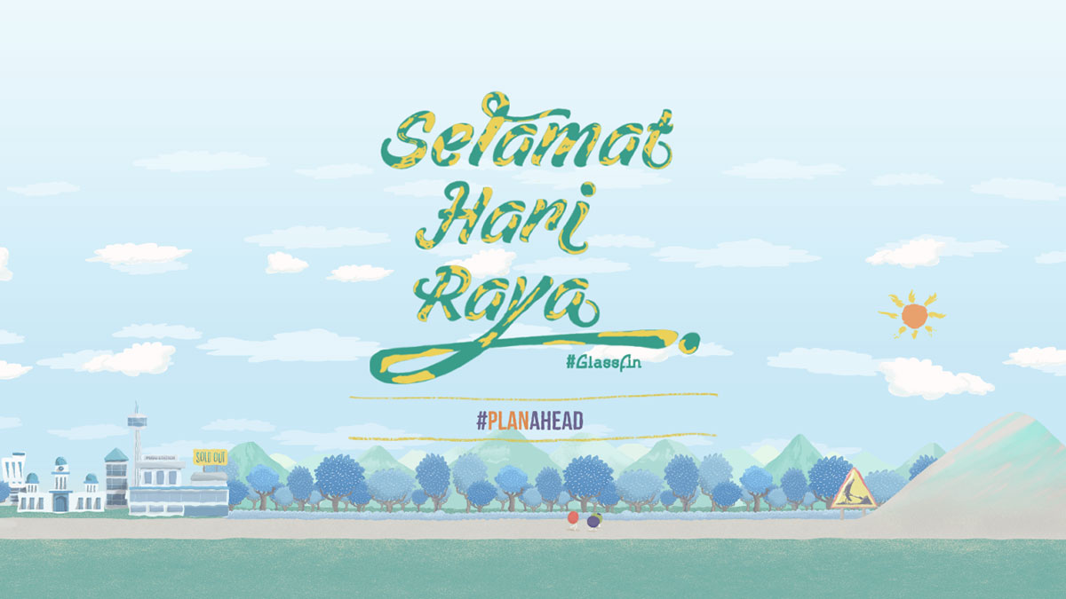 Lastly, we would like to wish you a Selamat Hari Raya and enjoy. Thanks.